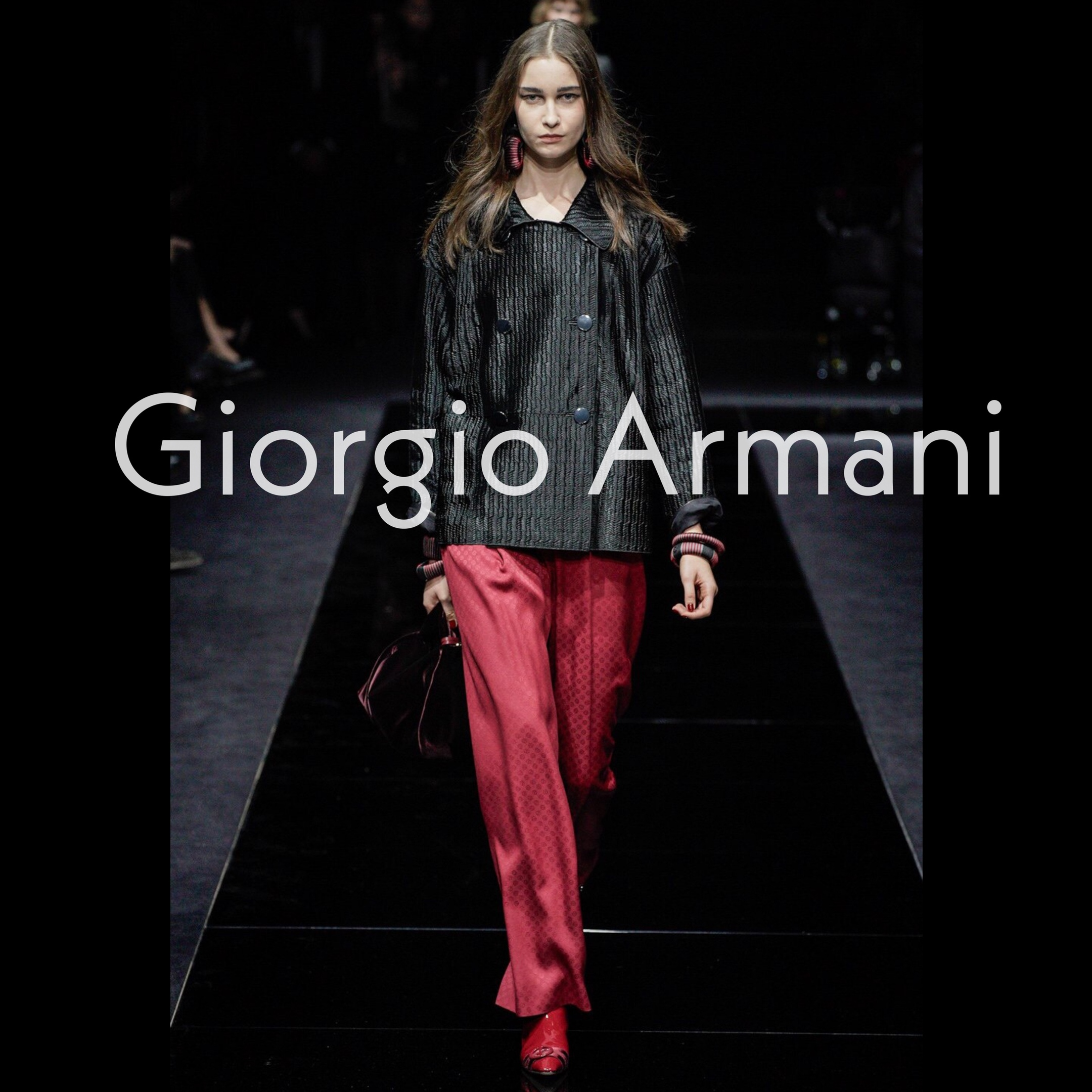 ANASTA for GIORGIO ARMANI Pre-Fall 2020-2021 fashion show Milan